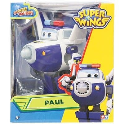 Super Wings Paul Transforming Toy